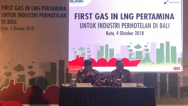 Pertamina Suplai LNG untuk Industri Perhotelan Bali
