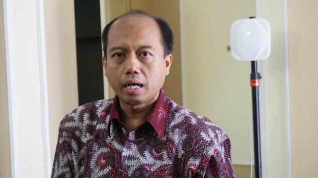Sutopo Purwo Nugroho di Istana Bogor