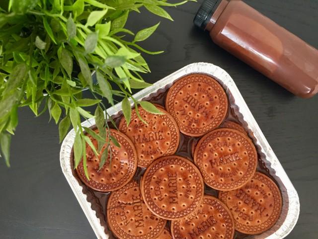 Puding Regal Saus Nutella