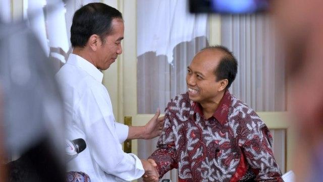 Sutopo Purwo Nugroho Bertemu Jokowi, Istana Bogor