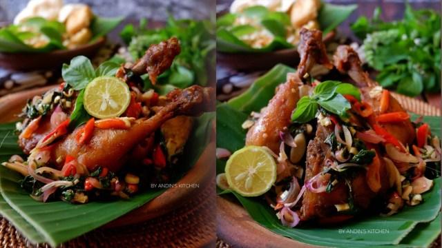Resep Masakan: Ayam Goreng Jinten Sambal Matah yang Menggugah Selera (942875)
