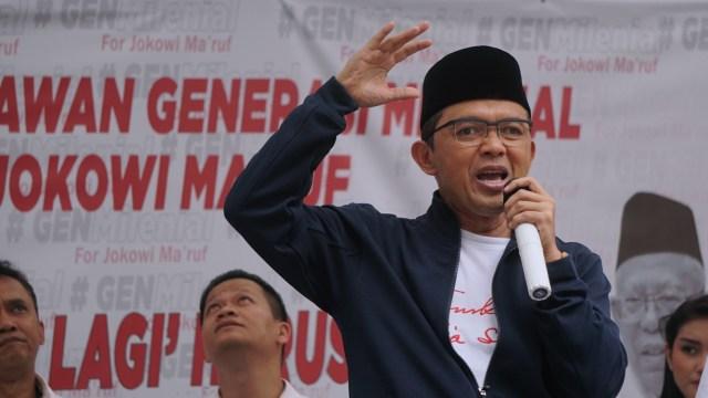 Deklarasi Generasi Milenial, Jokowi Ma'ruf, Gedung Aspirasi