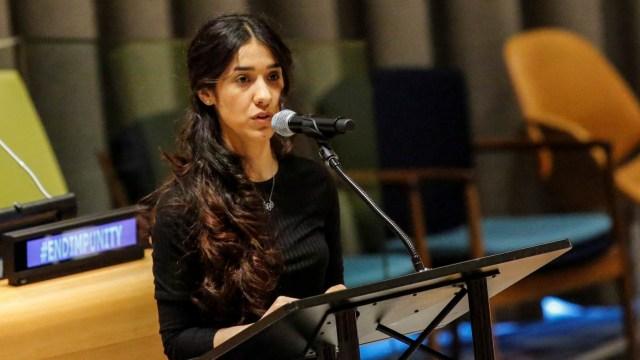 5 Fakta Nadia Murad, Eks Budak Seks ISIS yang Dapat Nobel