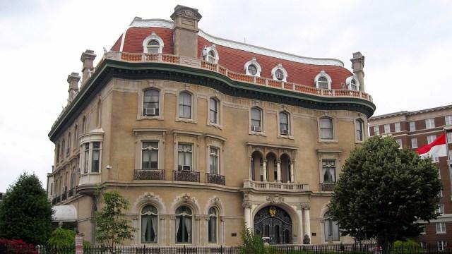 Gedung Kedutaan Besar Republik Indonesia di Washington DC