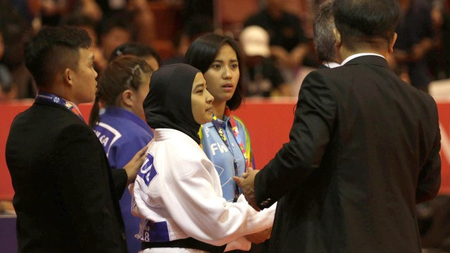 Miftahul Jannah, atlet judo, asian para games