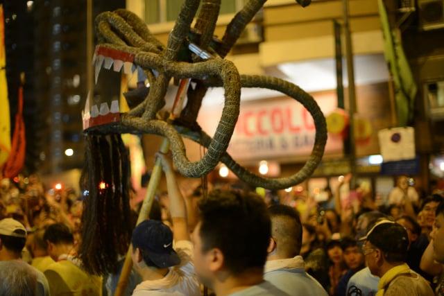 Festival Fire Dragon di Tai Hang