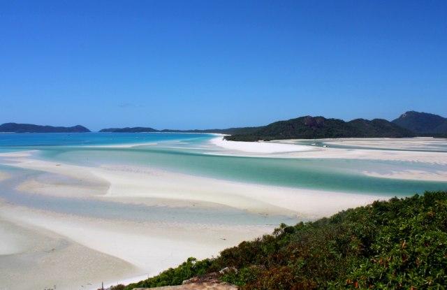 Eksotisme indahnya Kepulauan Whitesuday