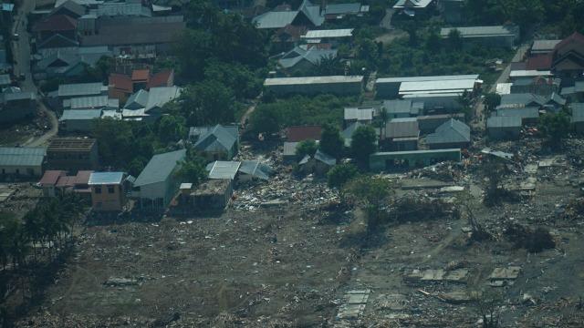 Kondisi Kota Palu, Gempa Palu