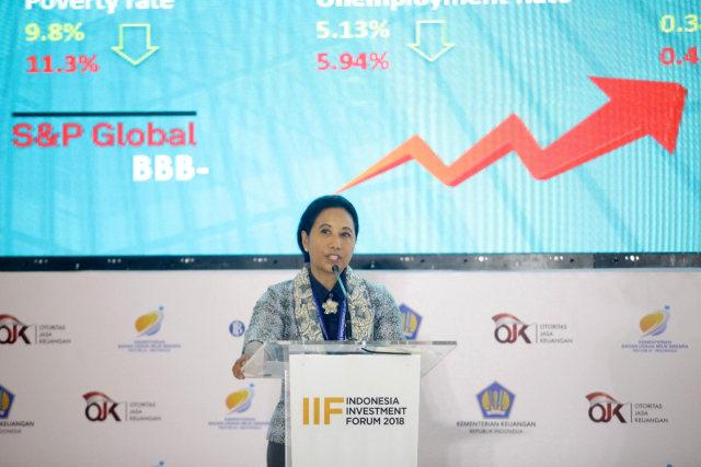 Menteri Rini Soemarno, IFF 2018 di Hotel Conrad, Bali
