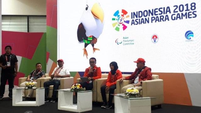 Konferensi pers, Menpora, Atlet Judo, Miftahul Jannah