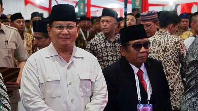 Beda Jokowi dan Prabowo saat di Rakernas LDII  (158069)