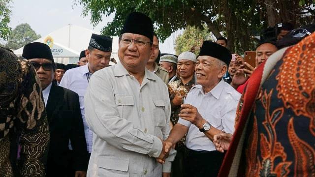 Prabowo Subianto, Ponpes Minhajurrosyidin