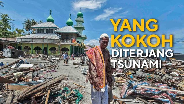 Tak Henti Kumandangkan Azan Meski Tsunami Menerjang (100364)