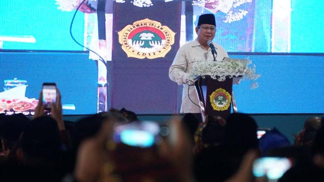 Beda Jokowi dan Prabowo saat di Rakernas LDII  (158067)