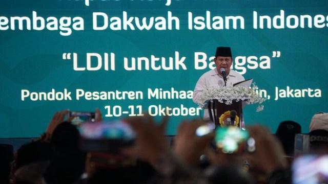 5 Pernyataan Kontroversial Prabowo saat Pidato di Rakernas LDII (150493)