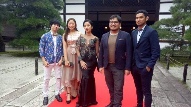 Pemain film Bayang di Kyoto International Film Festival 2018
