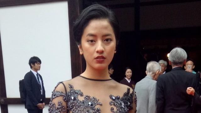 Novinta Dhini, Pemain film Bayang di Kyoto International Film Festival 2018