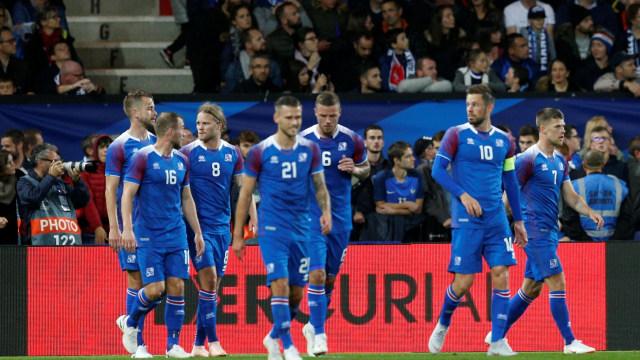 Prancis vs Islandia