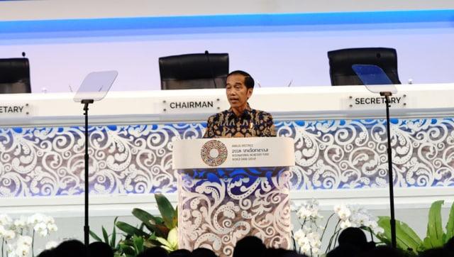 Jokowi, joko widodo, IMF