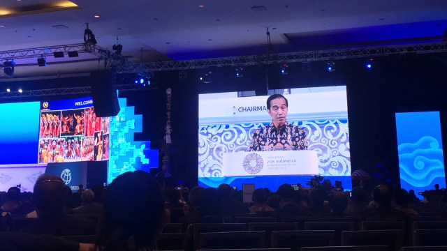 Jokowi, Opening Remarks, Annual Meetings, IMF