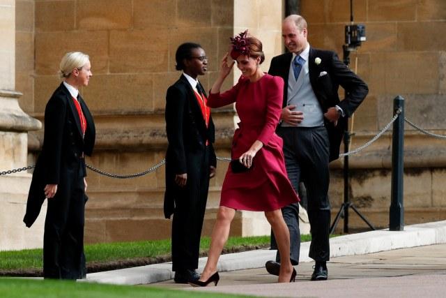 Cantiknya Kate Middleton dan Meghan Markle di Pernikahan Putri Eugenie (38544)