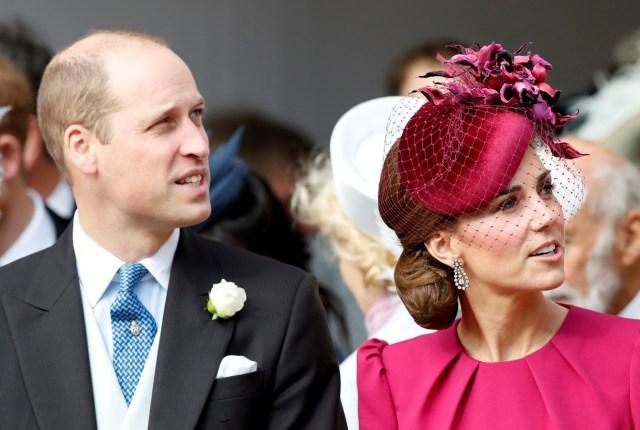 Cantiknya Kate Middleton dan Meghan Markle di Pernikahan Putri Eugenie (38547)