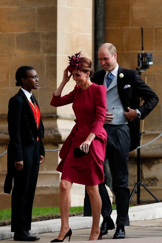 Cantiknya Kate Middleton dan Meghan Markle di Pernikahan Putri Eugenie (38546)