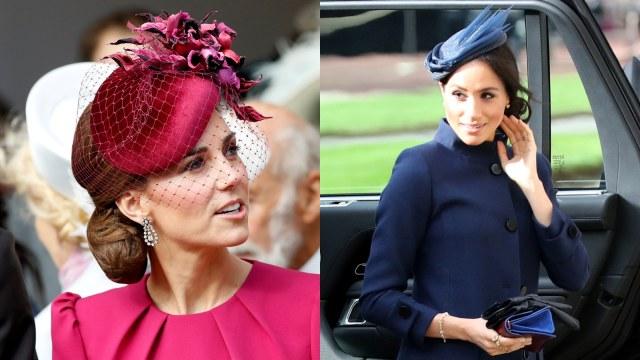 Cantiknya Kate Middleton dan Meghan Markle di Pernikahan Putri Eugenie (38543)