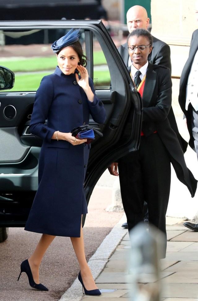 Cantiknya Kate Middleton dan Meghan Markle di Pernikahan Putri Eugenie (38549)