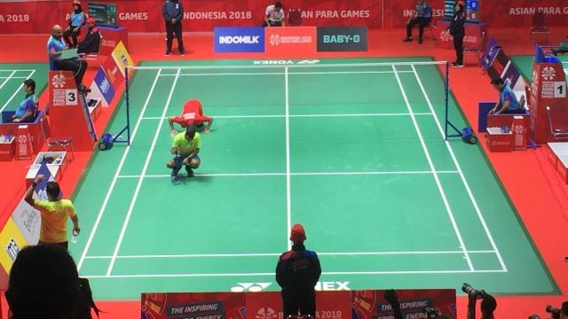 Ukun Rukaendi, atlet badminton Indonesia.