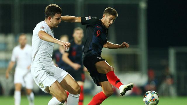 Laga Kroasia vs Inggris Berakhir Tanpa Pemenang (357495)