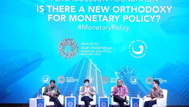 Diskusi kebijakan moneter di IMF-WBG 2018