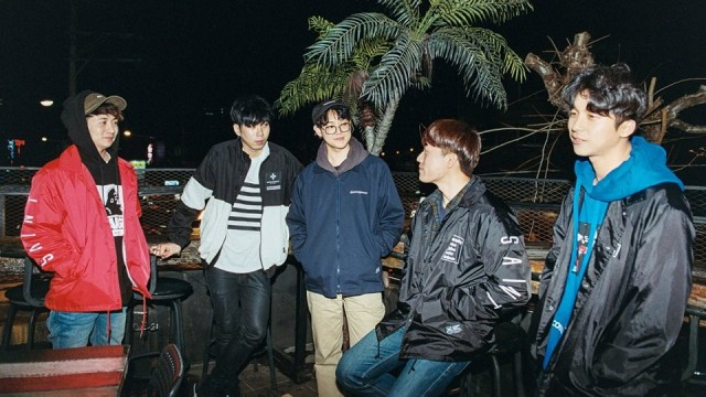 Band Indie Korea, We Are The Night