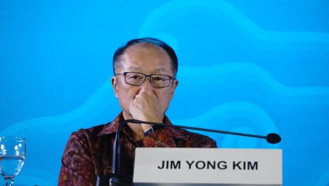 Penutupan Annual Meeting, IMF-World Bank 2018, Nusa Dua, Bali