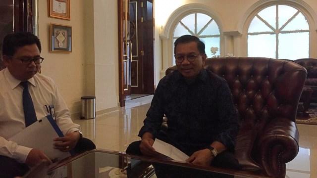 Direktur Utama PT Asuransi Jiwasraya (Persero) Asmawi Syam
