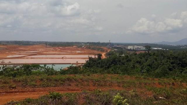 Melihat Tambang Bauksit PT Antam di Dekat Perbatasan RI-Malaysia (64461)