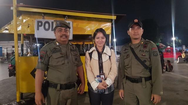 Wartawan kumparan, Pasar Minggu
