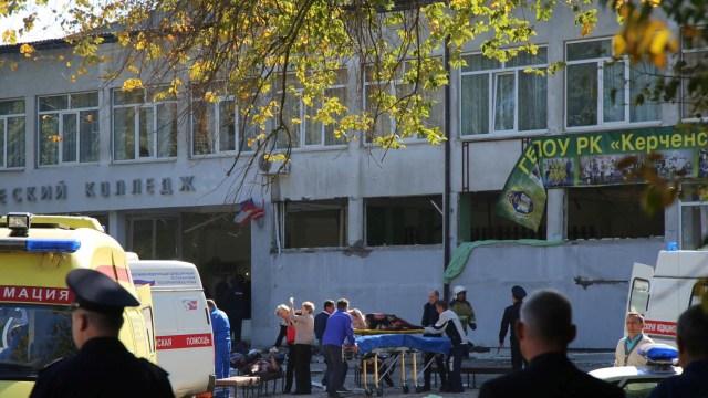 Ledakan di Krimea