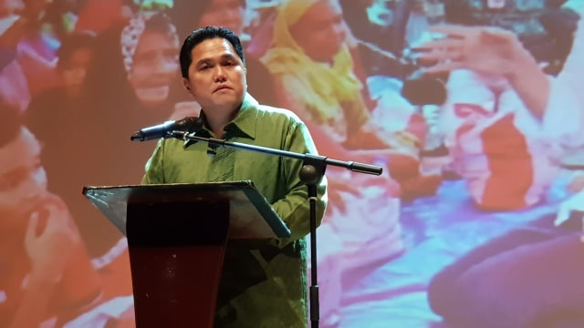 Ketua TKN JKW-KMA, Erick Thohir