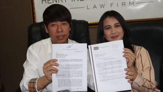 Dhea Annisa dan Henry Indraguna