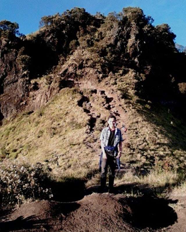 Jembatan setan di Gunung Merbabu