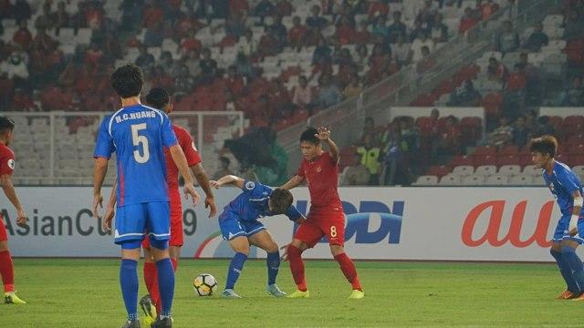 Indonesia U19 vs Chinese Taipe U19 di AFC U-19 Championship, Gelora Bung Karno