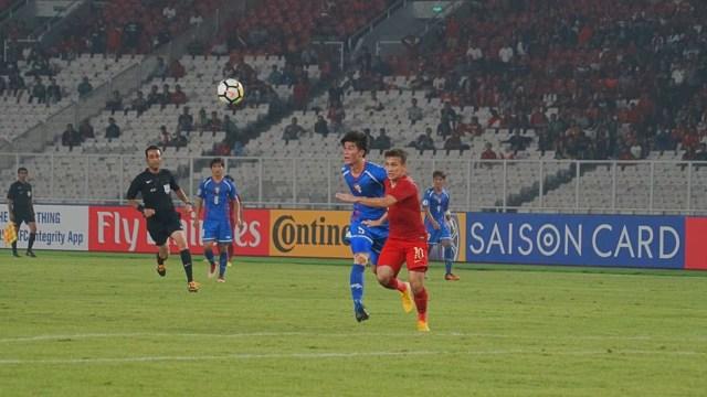 Indonesia U-19 vs Taiwan U-19 di AFC U-19 Championship, Gelora Bung Karno