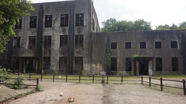 Pembangkit listrik yang telah ditinggalkan di Okunoshuma