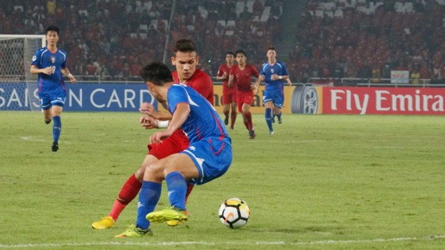 Egy Maulana Vikri saat Indonesia U-19 vs Chinese Taipei U-19