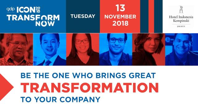 Acara ICON 2018 dari GDP Venture