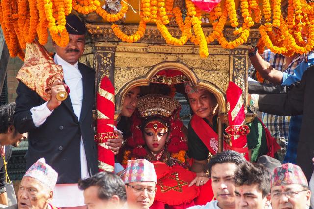 Cerita di Balik Tradisi Kumari, Dewi yang Melindungi Masyarakat Nepal (4)