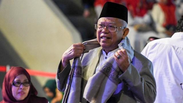 Ma'ruf Amin, Konser Nasyid dan Sholawat, Kerukunan Bangsa, Galang Dana, Sulteng