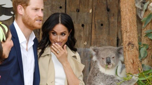 Pangeran Harry, Meghan Markle, Australia