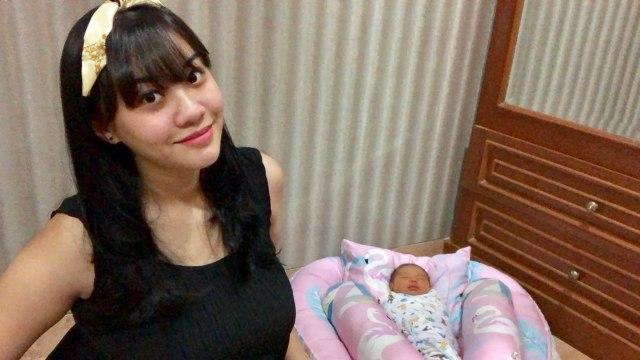 Cleo Eks JKT48 dan Bayinya